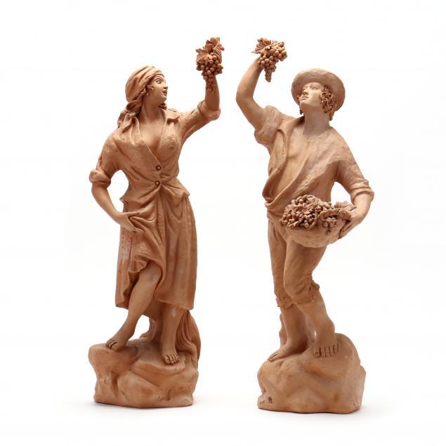 pair-of-italian-terra-cotta-figurines