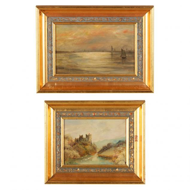 two-antique-continental-scenic-paintings