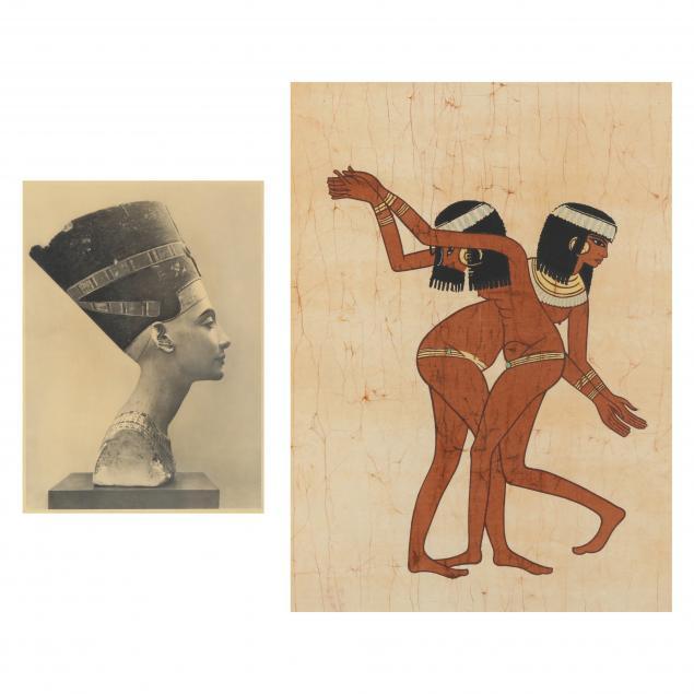 two-framed-egyptian-related-artworks