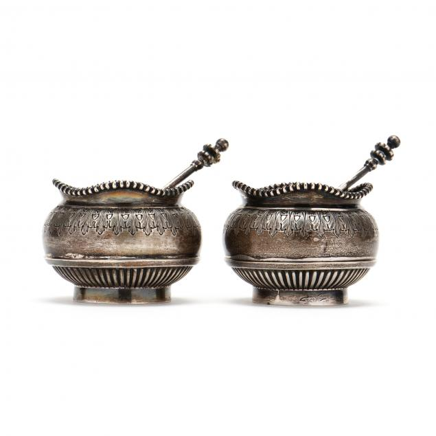 a-pair-of-victorian-salt-cellars-and-spoons