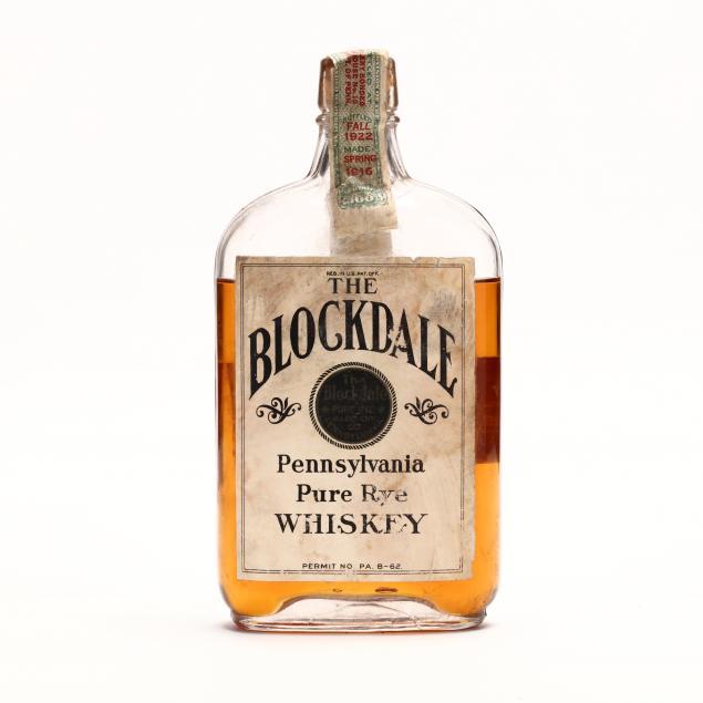the-blockdale-pennsylvania-pure-rye-whiskey