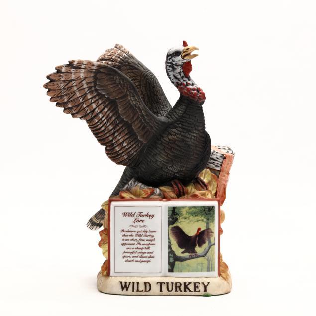 wild-turkey-bourbon-whiskey-in-porcelain-decanter