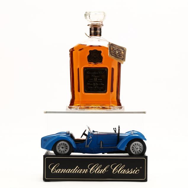 canadian-club-classic-whisky-and-car-stand