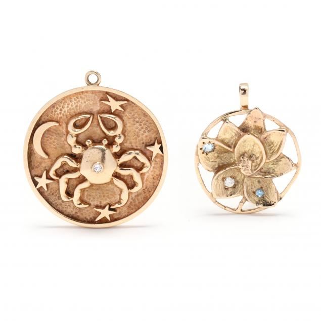 two-gold-and-gem-set-charms