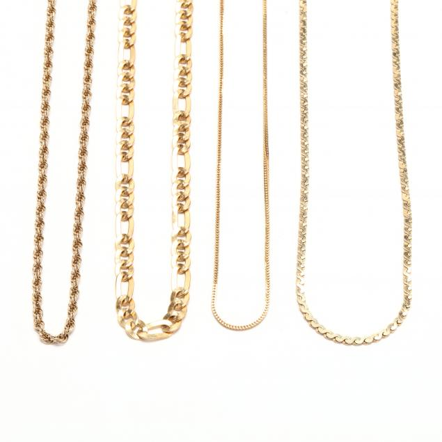 four-gold-chain-necklaces