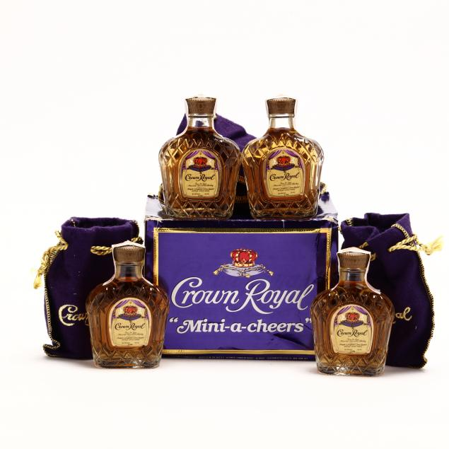 seagram-s-crown-royal-canadian-whisky-miniatures