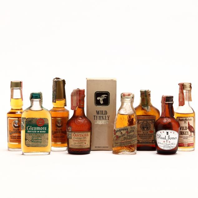 top-shelf-miniature-bottle-selection